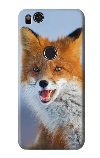Printed Fox HTC One S Case