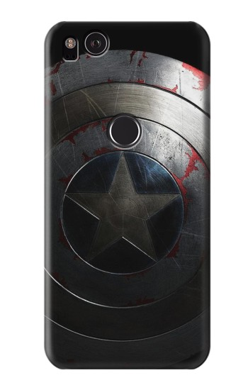 Printed Captain Shield HTC One S Case