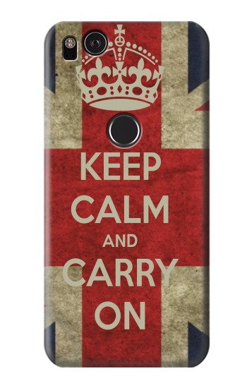 Printed Keep Calm and Carry On HTC One S Case