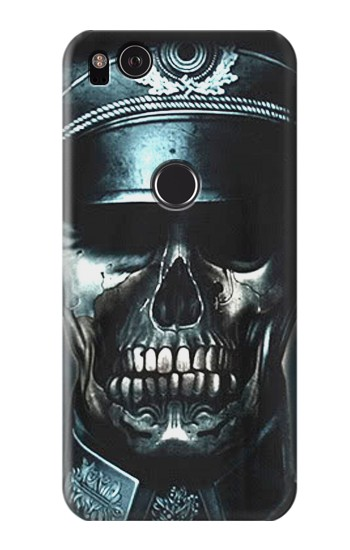 Printed Skull Soldier Zombie HTC One S Case
