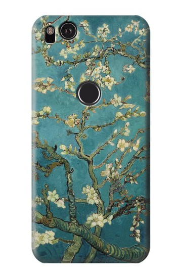 Printed Blossoming Almond Tree Van Gogh HTC One S Case