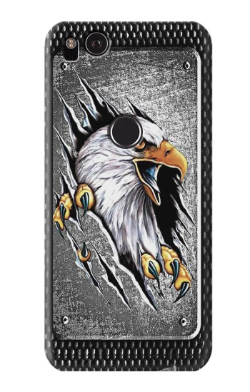 Printed Eagle Metal HTC One S Case