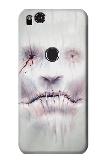 Printed Horror Face HTC One S Case