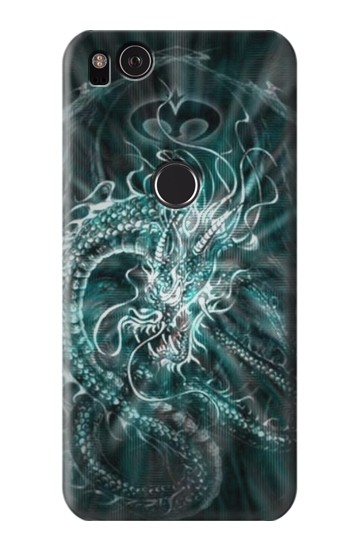 Printed Digital Chinese Dragon HTC One S Case