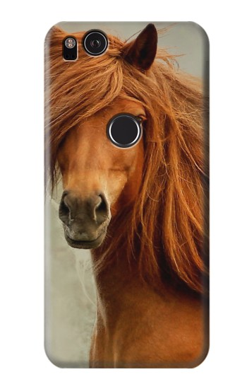 Printed Beautiful Brown Horse HTC One S Case
