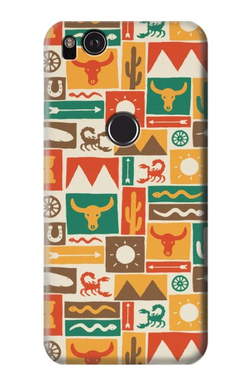 Printed Western Pattern HTC One S Case