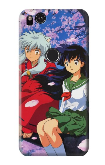 Printed Inuyasha Kagome HTC One S Case