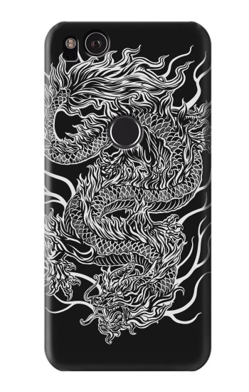 Printed Dragon Tattoo HTC One S Case