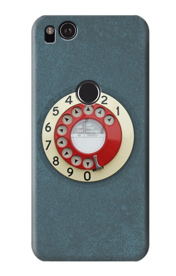 Printed Rotary Dial Telephone HTC One S Case