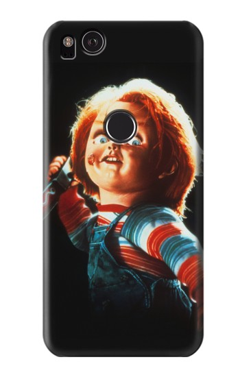 Printed Chucky With Knife HTC One S Case