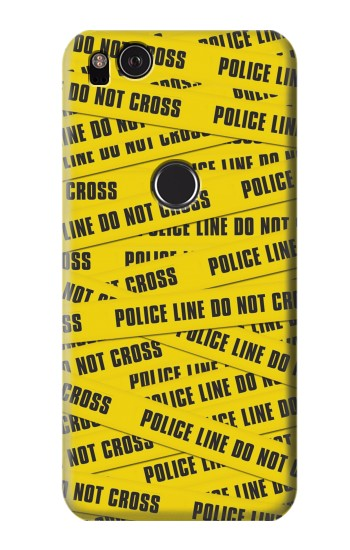 Printed Police Line Do Not Cross HTC One S Case