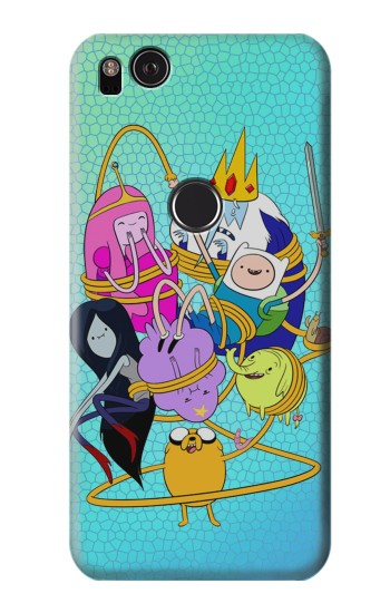 Printed Adventure Time HTC One S Case