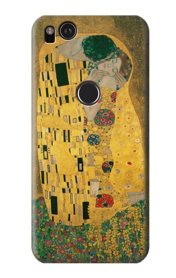 Printed Gustav Klimt The Kiss HTC One S Case