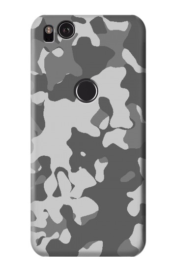 Printed Gray Camo Camouflage Graphic Printed HTC One S Case