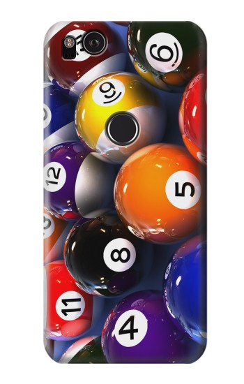 Printed Billiard Pool Ball HTC One S Case
