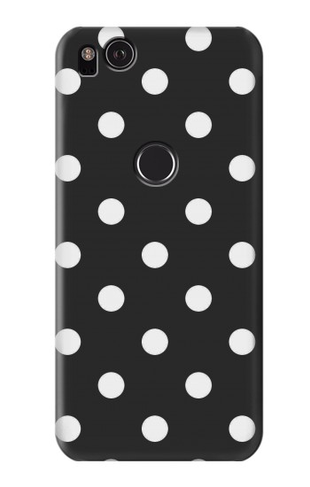 Printed Black Polka Dots HTC One S Case