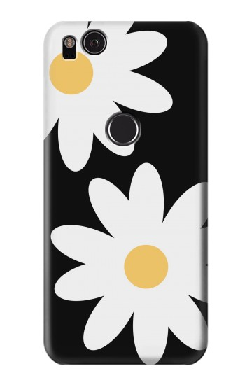 Printed Daisy White Flowers HTC One S Case