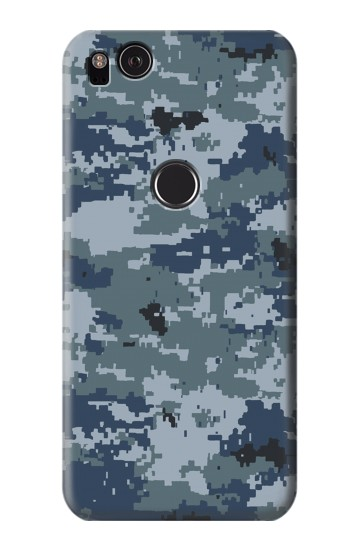 Printed Navy Camo Camouflage Graphic HTC One S Case
