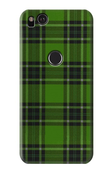 Printed Tartan Green Pattern HTC One S Case