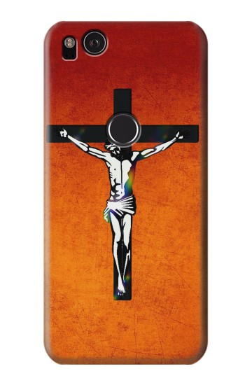 Printed Jesus Christ On The Cross HTC One S Case