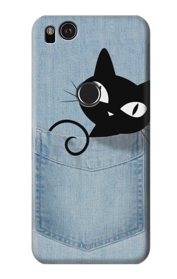 Printed Pocket Cat HTC One S Case