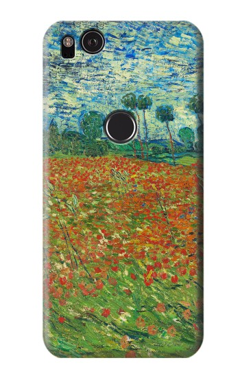 Printed Field Of Poppies Vincent Van Gogh HTC One S Case
