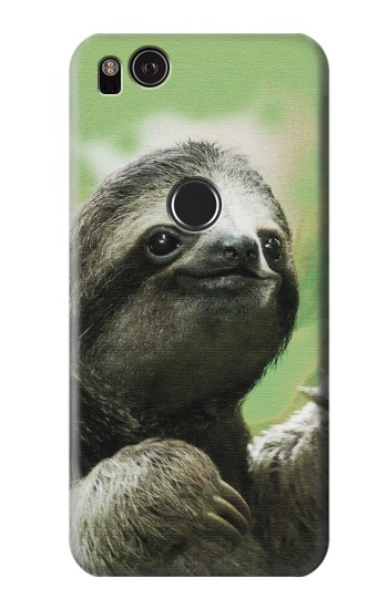 Printed Smiling Sloth HTC One S Case