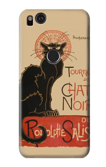 Printed Chat Noir The Black Cat HTC One S Case