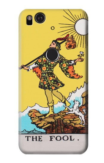 Printed Tarot Card The Fool HTC One S Case