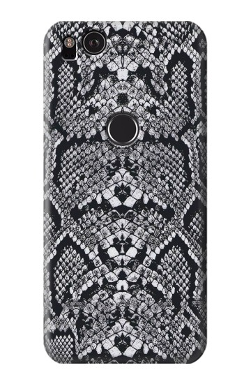 Printed White Rattle Snake Skin HTC One S Case