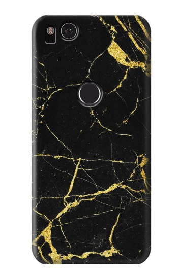 Printed Gold Marble Graphic Printed HTC One S Case