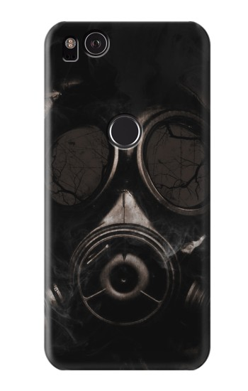 Printed Gas Mask HTC One S Case