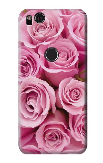 Printed Pink Rose HTC One S Case