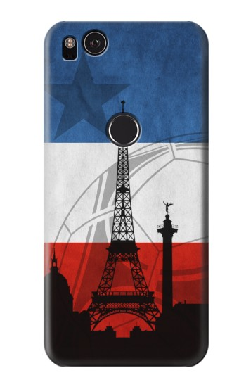 Printed France Football Flag HTC One S Case