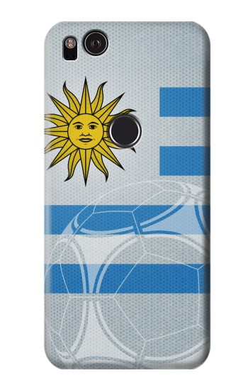 Printed Uruguay Football Flag HTC One S Case