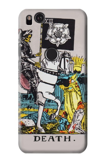 Printed Tarot Card Death HTC One S Case