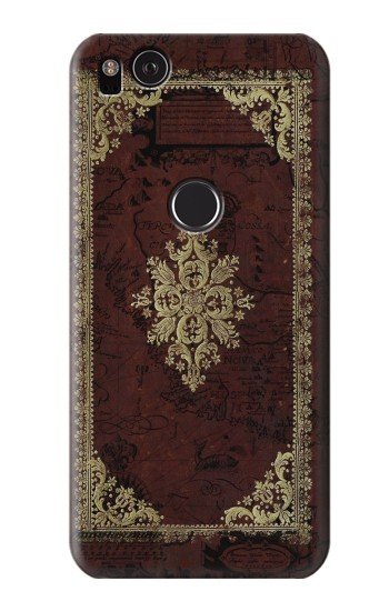 Printed Vintage Map Book Cover HTC One S Case