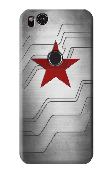 Printed Winter Soldier Bucky Arm Texture HTC One S Case