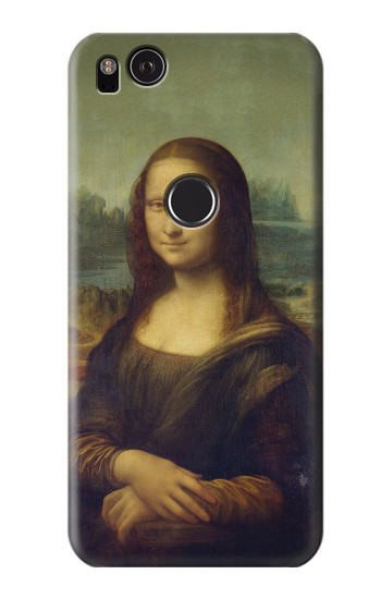 Printed Mona Lisa Da Vinci Painting HTC One S Case