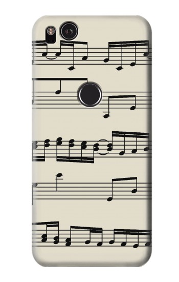 Printed Music Sheet HTC One S Case