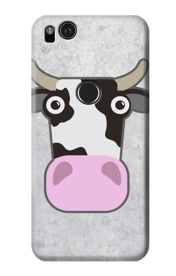Printed Cow Cartoon HTC One S Case