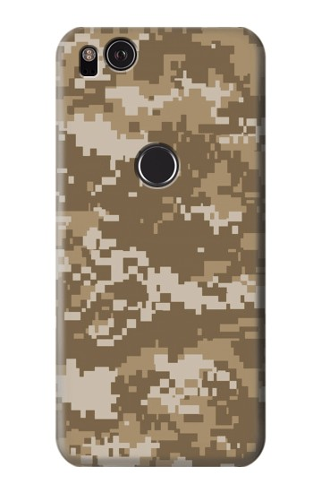 Printed Army Camo Tan HTC One S Case