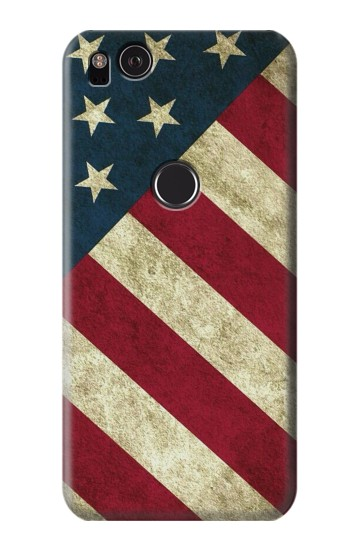 Printed US National Flag HTC One S Case