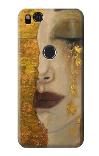 Printed Gustav Klimt Golden Tears HTC One S Case
