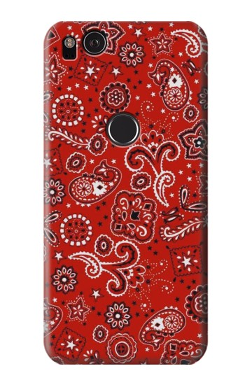 Printed Red Bandana HTC One S Case