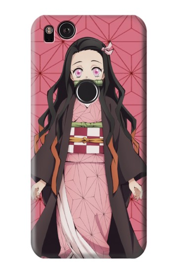Printed Demon Slayer Kimetsu no Yaiba Nezuko HTC One S Case