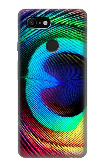 Printed Peacock Google Pixel 3 Case