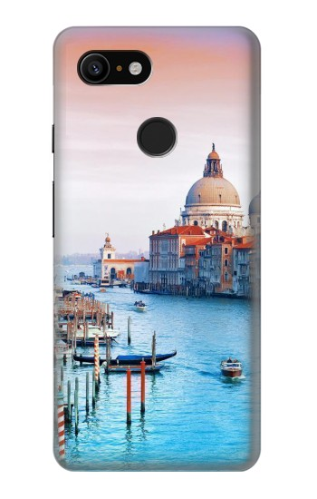 Printed Beauty of Venice Italy Google Pixel 3 Case