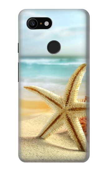 Printed Starfish on the Beach Google Pixel 3 Case
