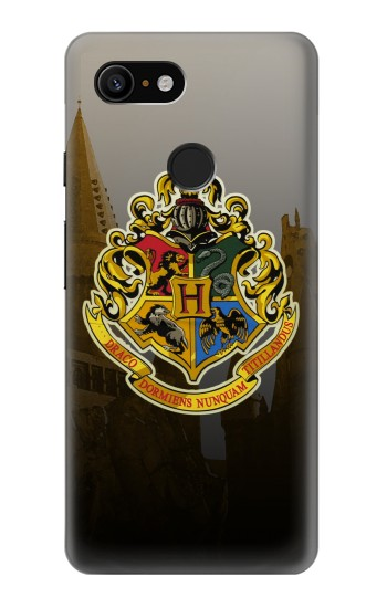 Printed Hogwarts School of Witchcraft and Wizardry Google Pixel 3 Case